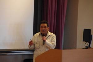 三洋電機株式会社三田幸治さんによる講演